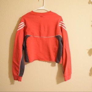 adidas Tops - Vintage Cropped Adidas Crewneck sweatshirt